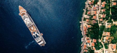 Sailing with MSP in Montenegro