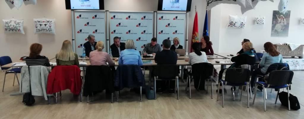 GEF Adriatic training workshops on Eutrophication and Contaminants